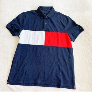 NWT Tommy Hilfiger Classic Front Logo Polo Shirt